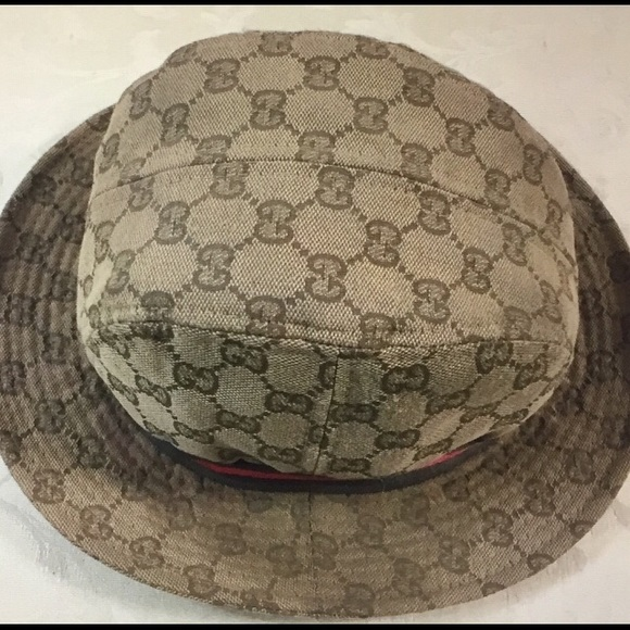Gucci GG monogrammed bucket hat. 58a22b945f68